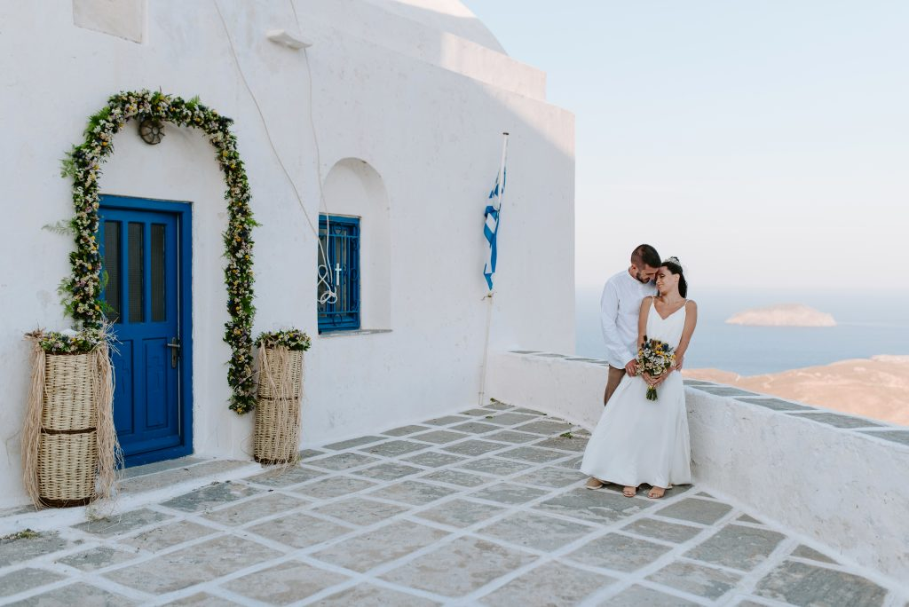 Wedding in Serifos